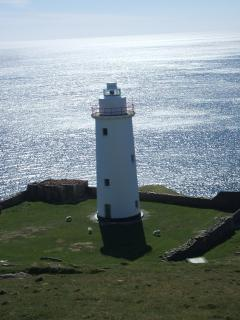 The light house in Bere island ( fantastic walk)