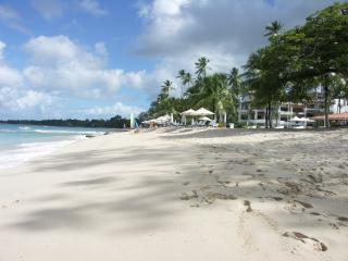 Beachfront apartment in St James Barbados