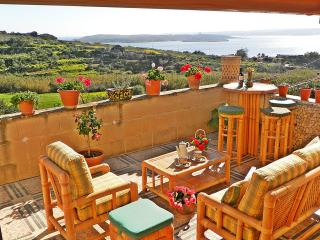 Charming Gozo Holiday Home with 3 Sea view Terraces Near The Sea
