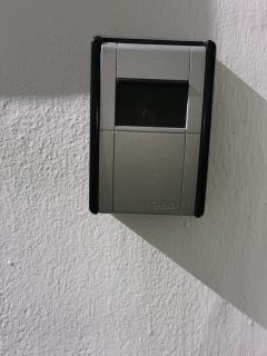 Keybox para recoger las llaves