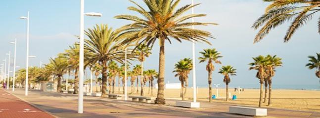 Paseo Playa Gandia