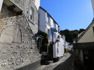 The Shell House is one of the most photographed houses in picturesque Polperro
