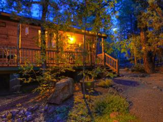 Relax. Step back to a simpler time in this beautiful Pinetop cabin in the Pines