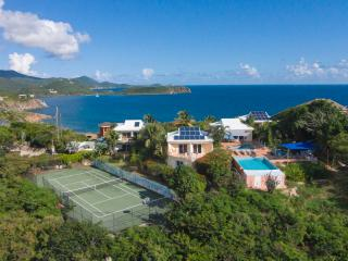 Great Expectations St. John vacation rental villa has 8 bedrooms and 3 pools