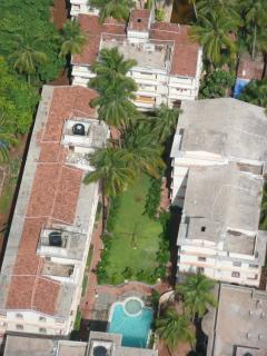 Aerial view of the Resort in which the apartment is.