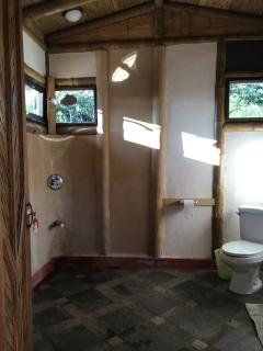 Bamboo House Bathroom Shower