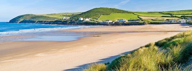 Croyde Bay, another beautiful beach within a short drive from Primrose House