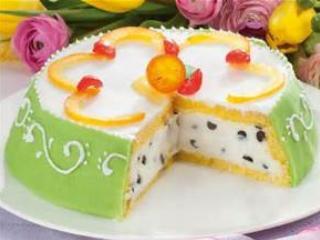 the tipical sicilien cake : name Cassata Siciliana