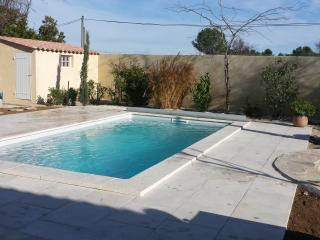 Beautiful house with nice garden pool and pond, Saint-Drezery