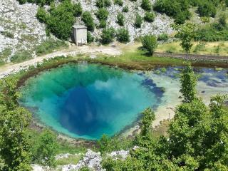 Stone house Cetina - river springs, Vrlika