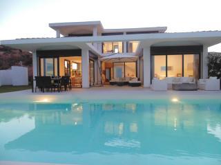 5 Star contemporary villa with private driver, Santa Margherita di Pula