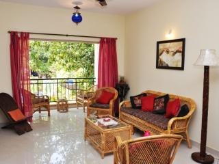 Westwinds Holiday Apartment with pool near Benaulim beach