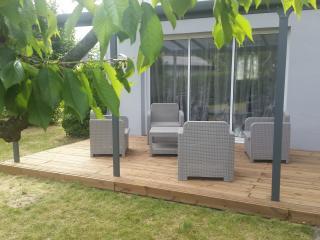 Maison 80m² & jardin 500m² à Angers (Wifi Gratuit)