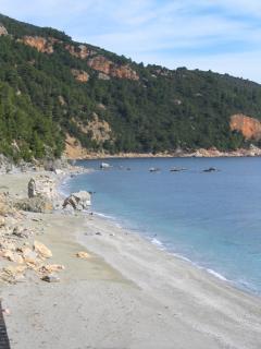 Velanio Beach - next to Stafylos Beach.