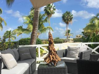 'La Madrague', fancy 1 BR condo, caribbean shore, Marigot