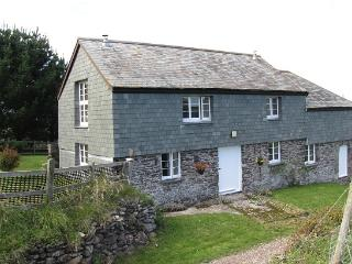 Secluded Country Cottage on a working National Trust Farm with Moor to Sea views