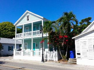Luxury 2 bedroom 1 bath with full kitchen - sleeps 4 - Steps from Duval St, Key West