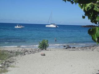 Gîte Balaou, 4 pers, 80m plage petite Anse, Bouillante