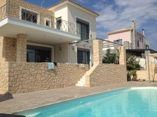 Modern Stone house with pool, Aegina