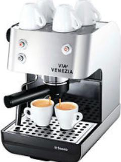 cappuccino machine avail with milk frother and grinder