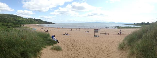 Sandyhills beach (3 miles)