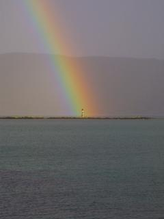 Rainbow in the Sound of Eriskay