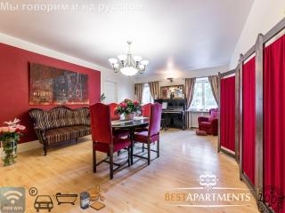 Spacious apartment with 6 rooms, 3 bathrooms, sauna and a bathtub, Tallinn