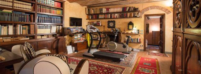 lower ground floor, studio and fitness room