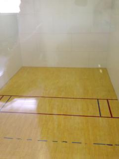 Racquetball is available to our guests.