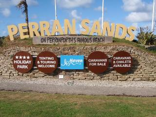 Caravan rental Perransands haven sea view, Perranporth