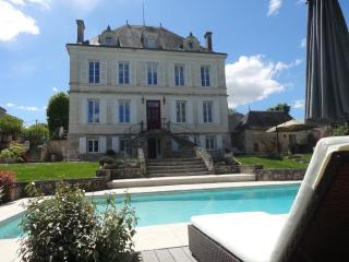 Elegant Maison Bourgeoise on river Charente, Crazannes