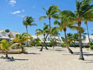 Cozy apartment on the beach, under coconut trees, Baie Nettle