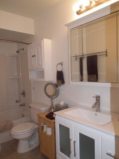 Recently remodeled bathroom. click on photo twice to open full photo in new tab