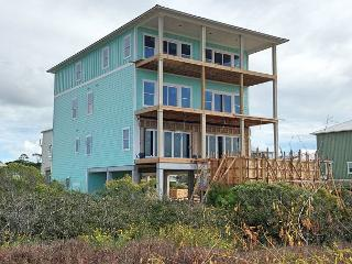Beachfront Home with Pool, Glass Wall Opens ***05/21/16 $7150/wk, Cape San Blas