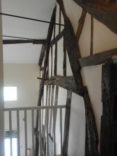 The cruck beams