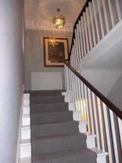 Stairs leading to upper floor.