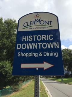 So when your done with all the theme parks; Historical downtown Clermont is a must see!