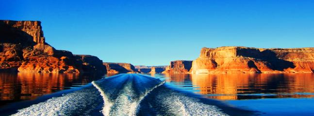 Lake Powell, a great place for water adventures