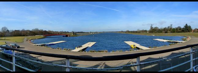 Dorney Lake, the 2012 Olympics Rowing and Canoeing Venue. Excellent walks around it.