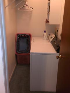 Full Size Washer and Dryer Indoor