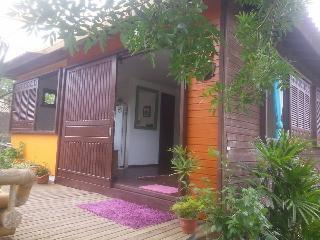casa  para ate 4 pessoas ,jardim, lagoa e praia, Campeche