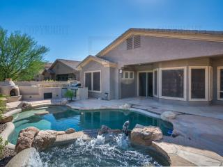 Golf Course, Htd pool/spa patio kitchen/fireplace, Cave Creek