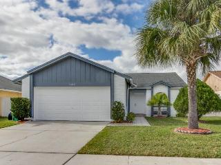 Beach-inspired home 4 miles from Disney w/community pool!, Kissimmee