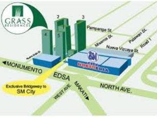 Affordable 1bedroom for rent Grass residences, Quezon City