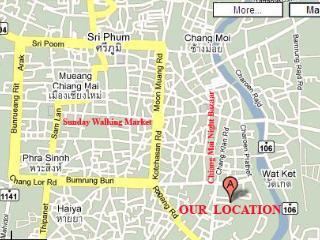 LOCATION LOCATION LOCATION NIGHT BAZAAR, Chiang Mai