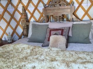 Romantic & Cosy Yurts - 4 poster or group yurts, Lysos