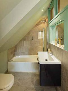 The ensuite for the double bedroom