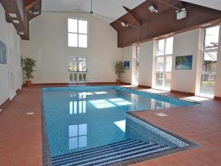 Heated indoor pool open all year
