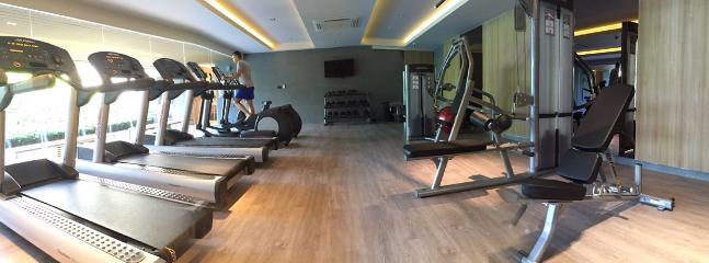 If you still have energy and want to stay in shape, fully equip gym within walking distance.