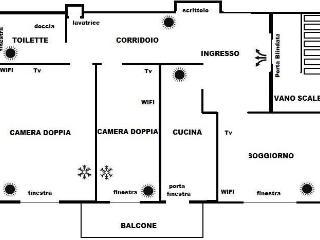 Appartamento Ferrara, Santa Maria Maddalena